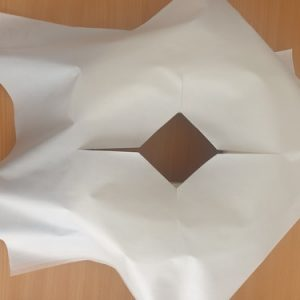 Disposable Bed Hole Face Cover